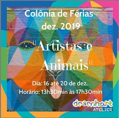 Colônia de Férias -Dezembro 2019