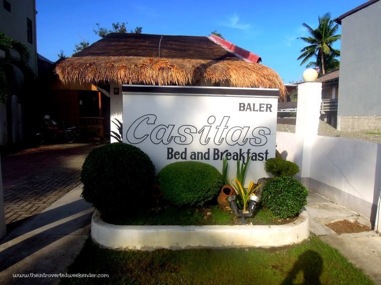 Entrance to Baler Casitas Bed and Breakfast