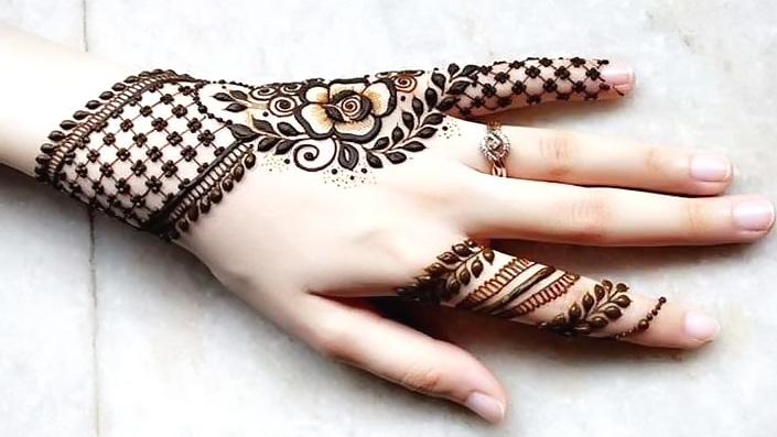 Jewellery Mehndi Design Simple and Easy