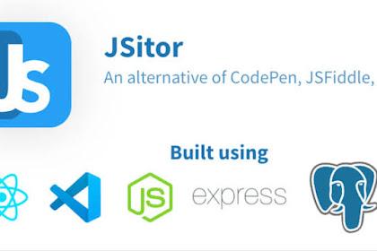 JSitor alternatif Codepen yang powerful.