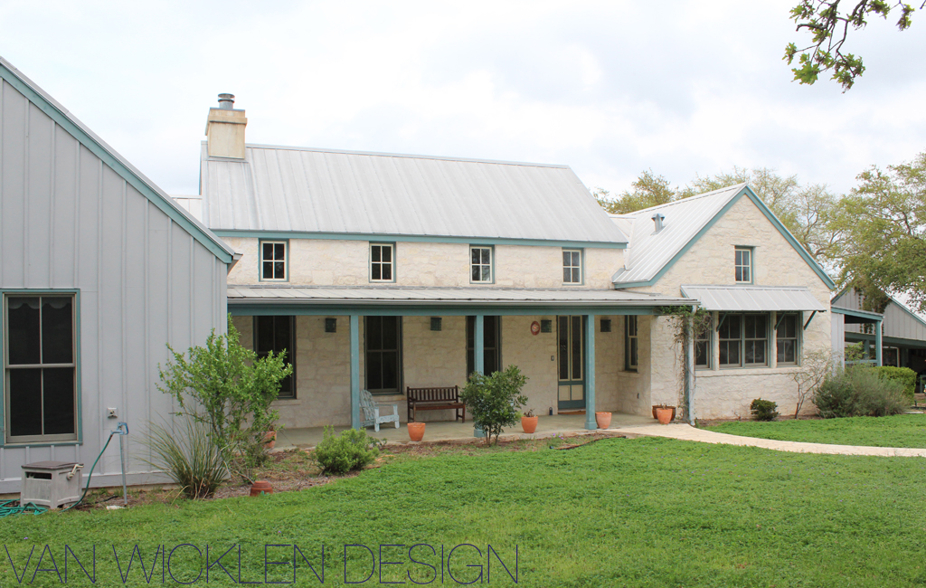 Jvw home updating a farmhouse for Texas farm houses