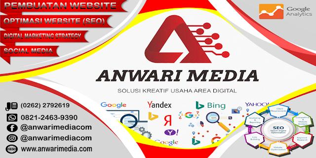 Anwari Media Penyedia Jasa SEO Bulanan di Garut