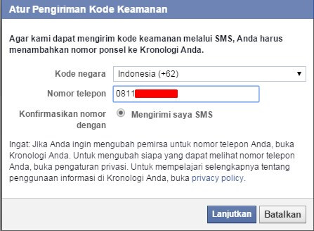 Tips Memaksimalkan keamanan Facebook