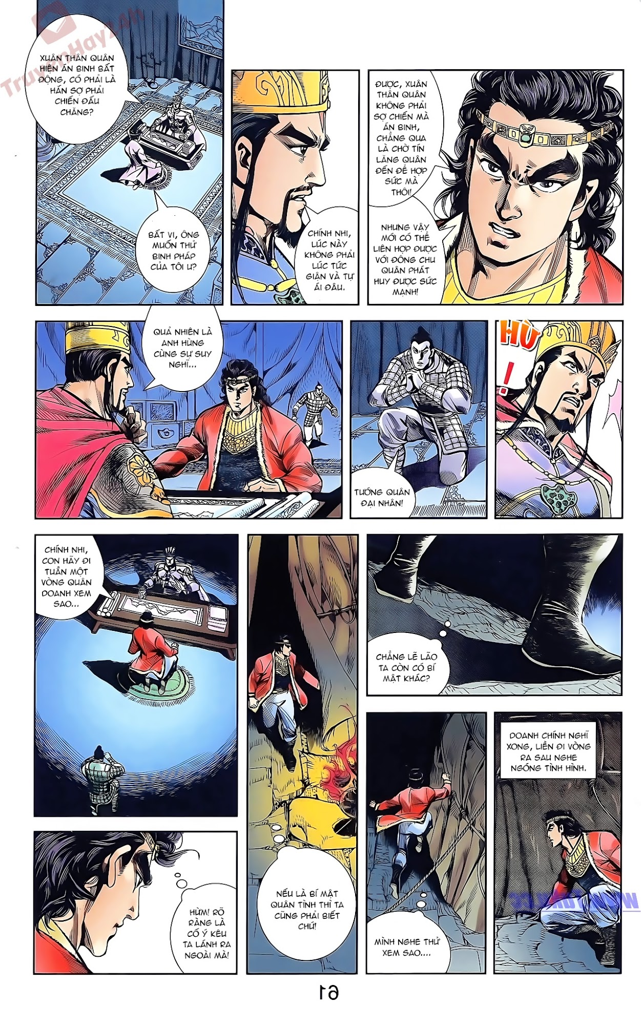 Tần Vương Doanh Chính chapter 44 trang 13