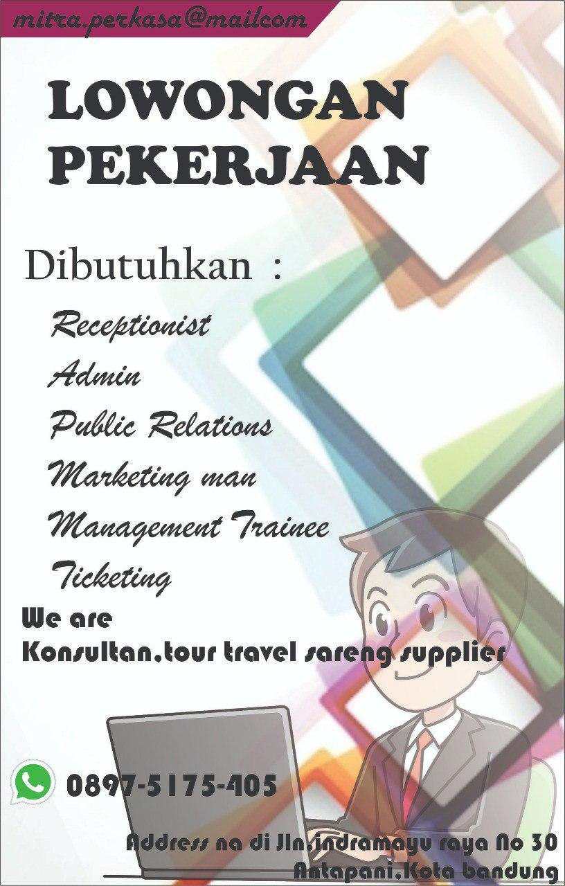 Lowongan Kerja Mitra Perkasa Bandung Agustus 2018