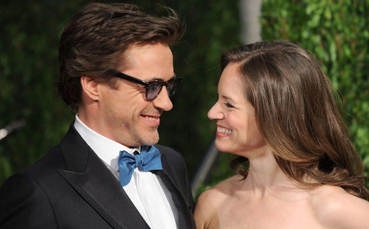Robert Downey Jr y Susan Levin