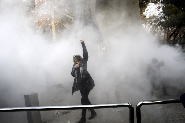 IRAN CELEBRATES NEW YEAR WITH STREET PARTIES AND FIREWORKS