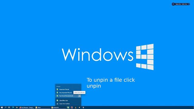 Pinning files on LibreOffice taskbar in Windows 10 - 5