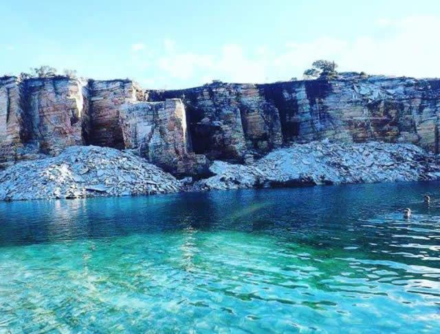 Pedreira Lagoa Azul - Minas Gerais