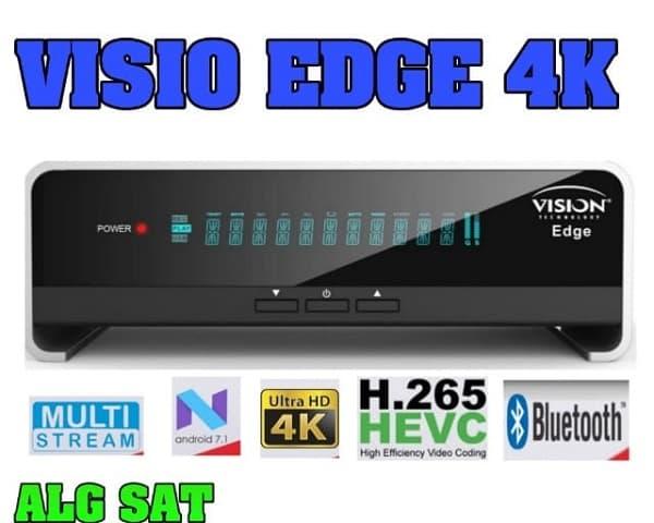 أخر تحديث لجهاز  VISION EDGE 4K متجددا دائما 2020- VISION EDGE 4K - أجهزة VISION