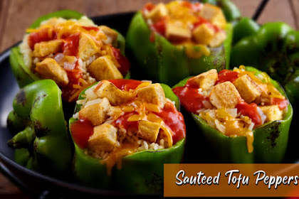 Asian Recipes Sauteed Tofu Peppers