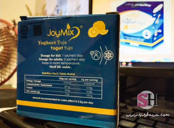 Joymix Yoghurt Yuja Probiotic