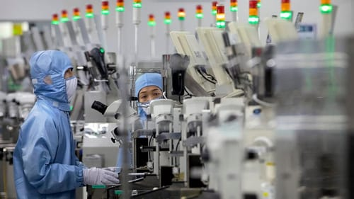 China is promoting semiconductor development with tax cuts