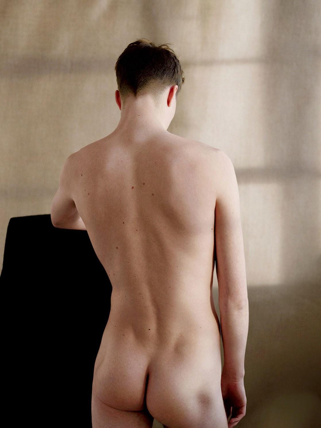 Athletic Man Having Back Pain Stock Image