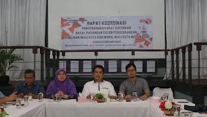 KPU Medan Rakor Matangkan Persiapan Penyerahan Dukungan Calon Perseorangan