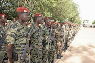 L'armée de la Guinée-Bissau