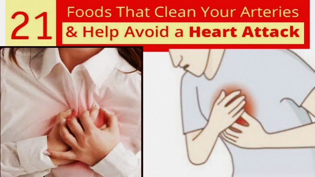 21 Foods That Are Clinically Proven To Clean Your Arteries & Help Avoid A Heart Attack or Stroke | how to prevent heart attack with food