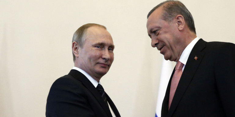 ηλεφωνική επικοινωνία Πούτιν-Ερντογάν για το Ναγκόρνο Καραμπάχ