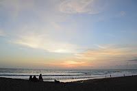 Suasana Pantai Kayu Putih Bali