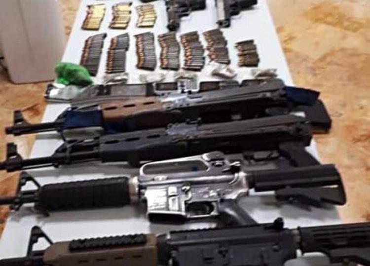 Detienen a ocho sujetos armados integrantes del CJNG en QRoo