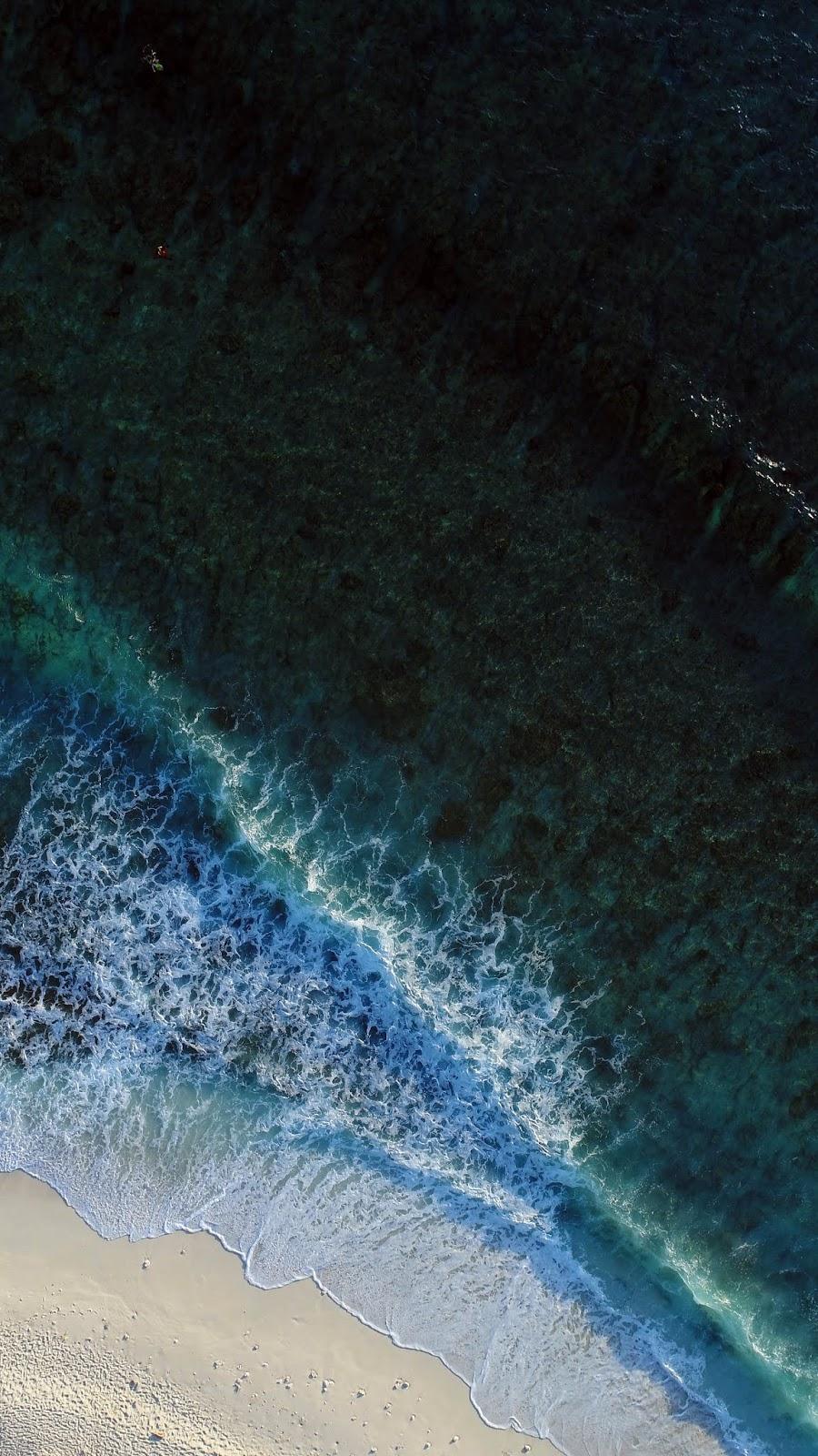 beach in 4k sea wallpaper
