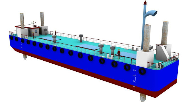 45m Power Barge