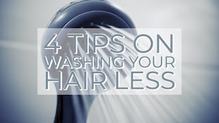 4 Tips on washing your hair less