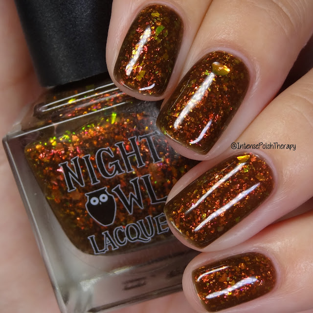 Night Owl Lacquer Leaf Pepping With Sasquatch | Polish Pickup October 2019