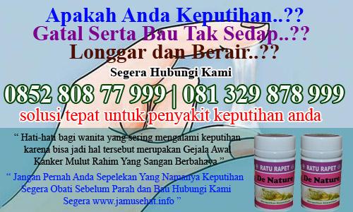 obat keputihan bau gatal