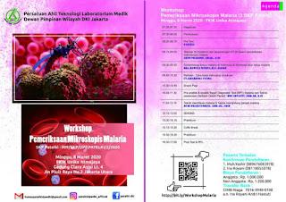 Workshop Pemeriksaan Mikroskopis Malaria DPW PATELKI DKI Jakarta