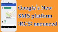 Globe, Google SMS, Jibe, LG, Motorola, Orange, RCS, Rich Communication Services, Rogers, SMS, SMS platform, Sony, Sprint, Telenor, ZTE,