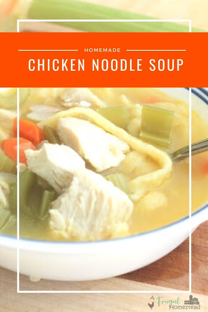 Keep warm in the cool months with this delicious creamy chicken noodle soup recipe.