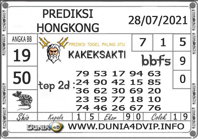 Prediksi Togel HONGKONG DUNIA4D 28 JULI 2021