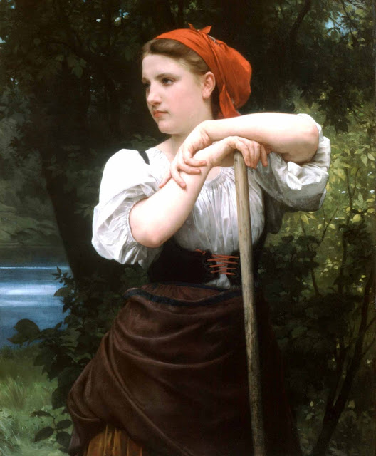 Адольф Вильям Бугро - Косильщица (1869)