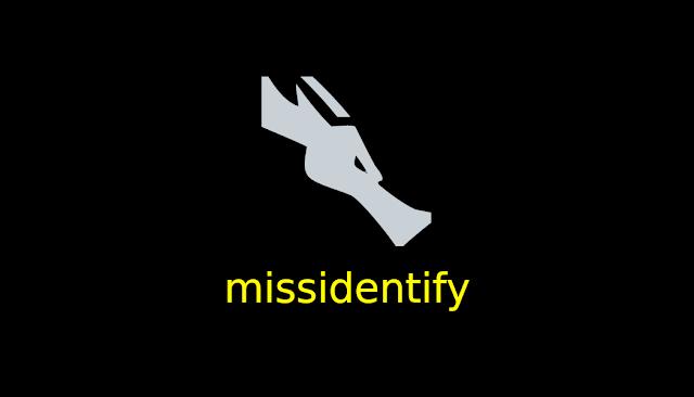 الدرس 248 شرح اداة missidentify