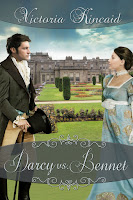 Book cover: Darcy vs Bennet by Victoria Kincaid