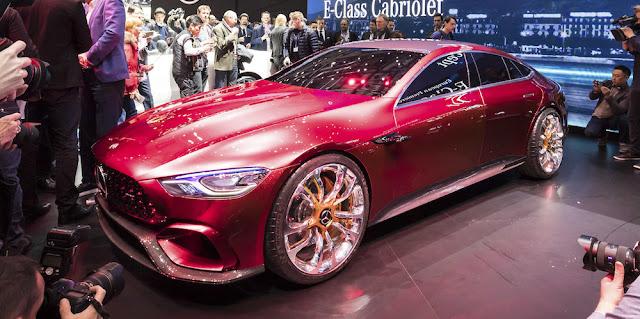 「メルセデスAMG GT」の4ドア・ハイブリッドコンセプトは将来「AMG GT」ファミリーの新たなモデルに?