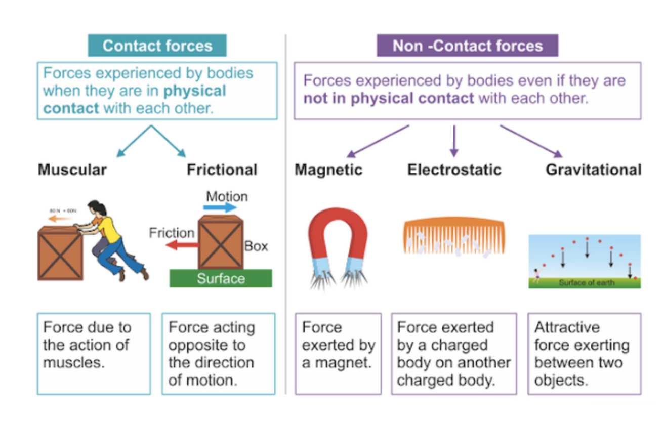 hight resolution of science forces and movements