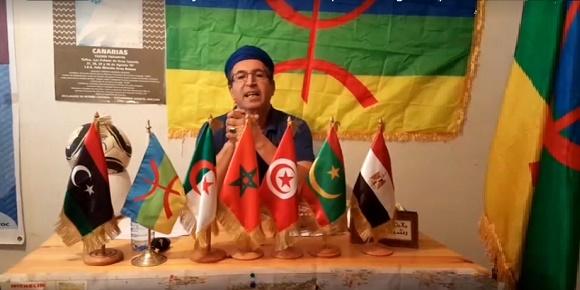 رئيس التجمع العالمي الامازيغي amazigh world assembly ،السيد رشيد الراخا