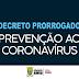 Prefeitura de Senhor do Bonfim prorroga até o dia 6 de abril decreto com medidas de enfrentamento ao covid19