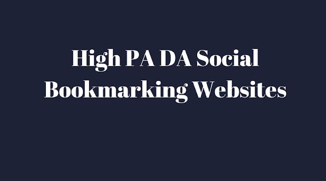 Top Free 1000 High DA Free Do-Follow Social Bookmarking Sites List 2019