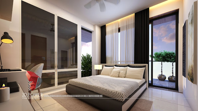 bedroom rendering services