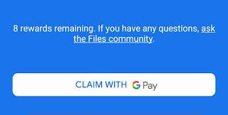 Files Go Claim Scratch Cards