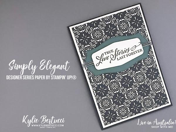 Maui Trip Achievers Blog Hop April 2021 | Simply Elegant Designer Series Paper