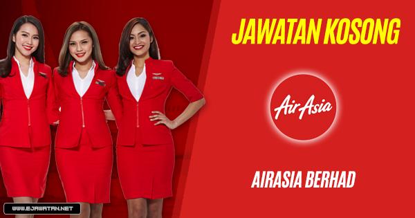 Jawatan Kosong di AirAsia Berhad 2019