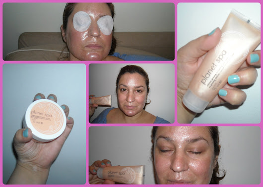 Review: AVON PLANET SPA Chinese Ginseng Peel Off Mask & Eye Pads