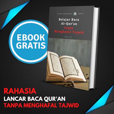 Download Ebook Tajwid Gratis Rahasia Lancar Baca Qur'an