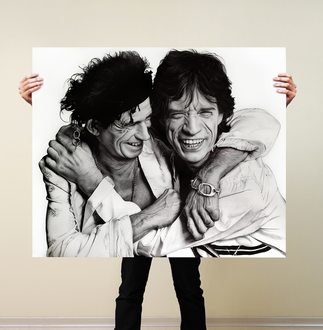 05-The-Rolling-Stones-Leonardo-Alves-de-Azevedo-Leo Natsume-Realistic-and-Detailed-Bic-Ballpoint-Pen-Drawings-www-designstack-co