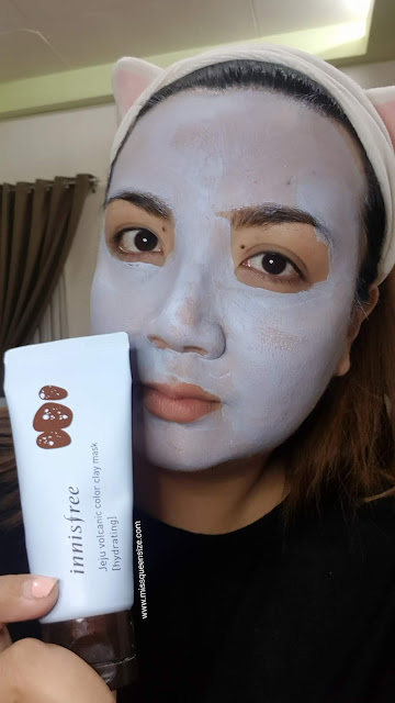 INNISFREE JEJU VOLCANIC COLOR CLAY MASK blue review