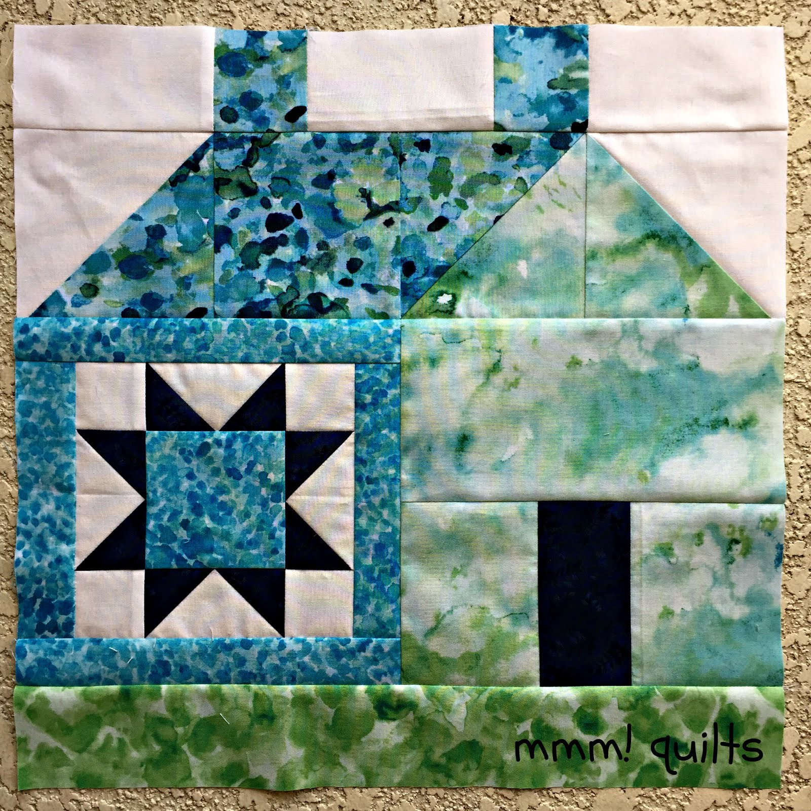 My House Block on Etsy